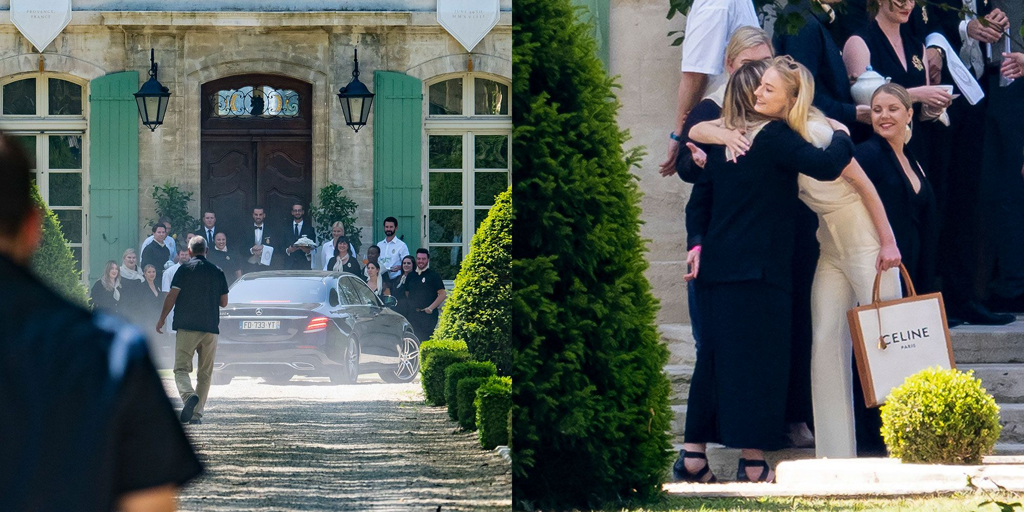 Sophie Turner and Joe Jonas Arrive at the Highly Instagrammable French Château Where They're Getting Married