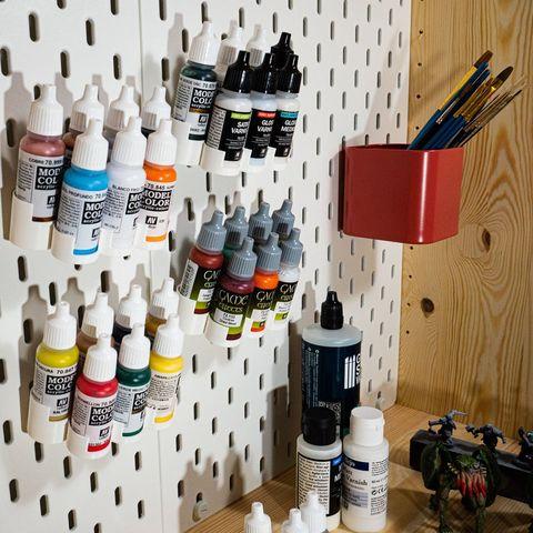 soportes para botes de pinturas