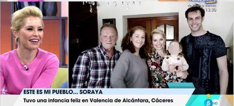 Soraya Arnelas protagoniza la sección 'Éste es mi pueblo' del programa 'Viva la vida'
