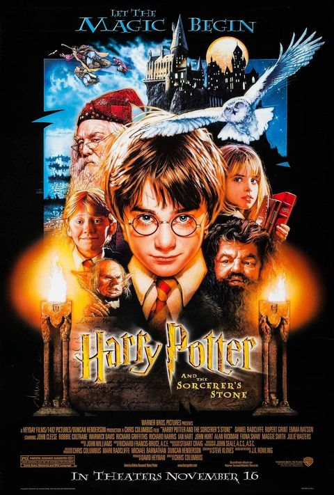 how to watch harry potter movies in order