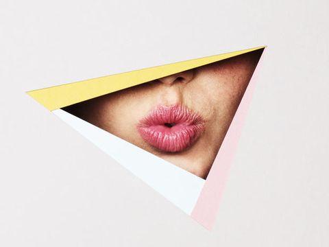 Lip, Cheek, Brown, Skin, Pink, Organ, Carmine, Colorfulness, Neck, Beige,