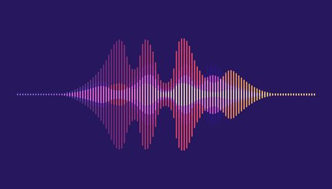 sound waves motion sound wave abstract background