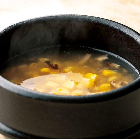 夏を乗り切る養生スープ とうもろこしのスープ