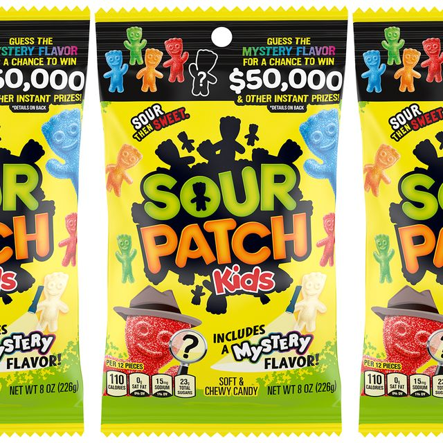 sour patch kids mystery flavor candy