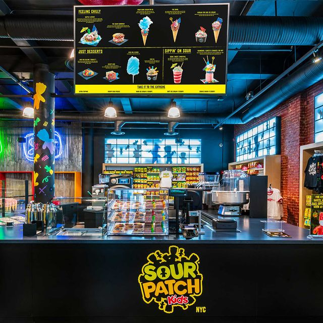 sour patch kids new york city store
