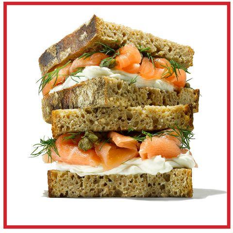 Food, Finger food, Ingredient, Cuisine, Dish, Leaf vegetable, Baked goods, Gluten, Brown bread, Vegan nutrition,