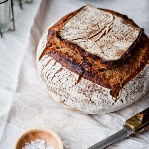 Healthy Carbs:Sourdough bread and salt