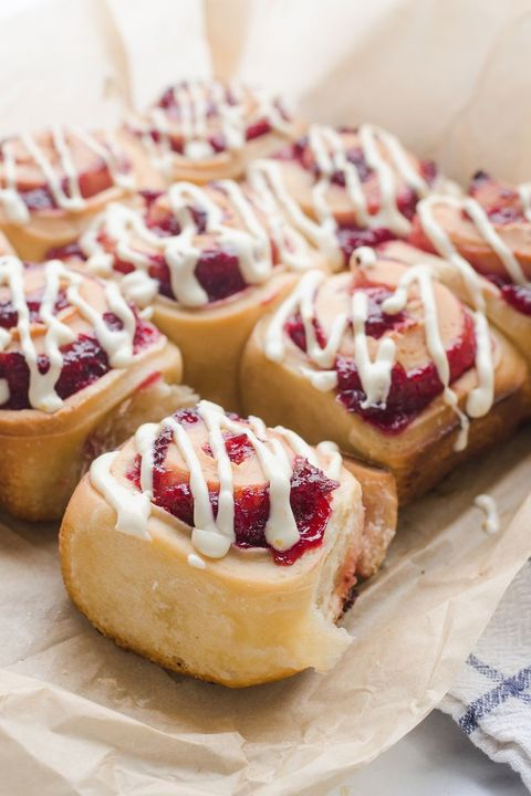 sourdough orange cranberry rolls