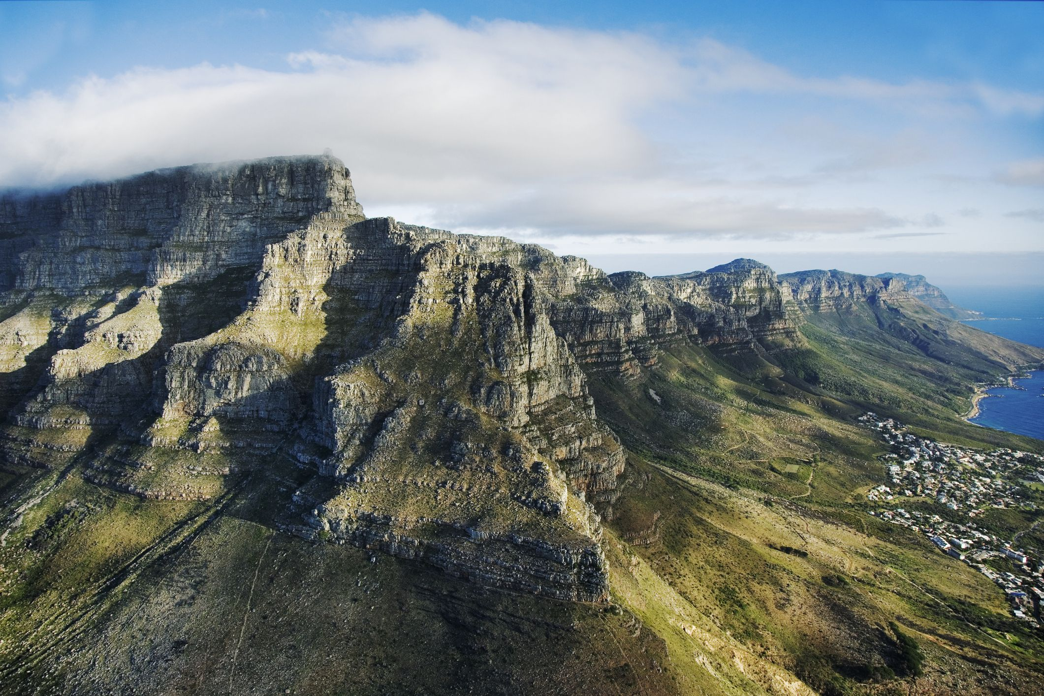 Seven natural wonders of the world: Table Mountain