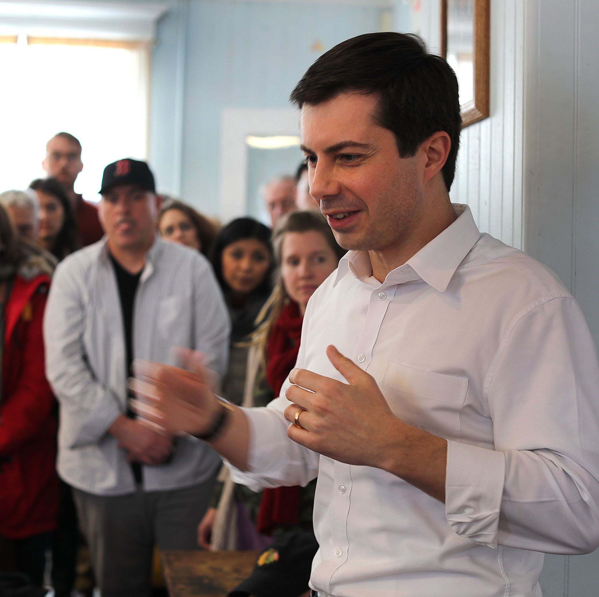 Presidential Candidate Pete Buttigieg Visits NH