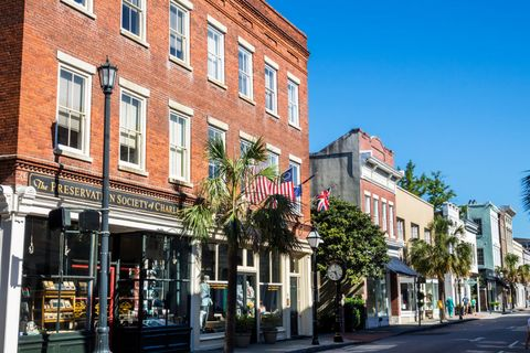 south carolina, charleston, the preservation society of charleston, business district