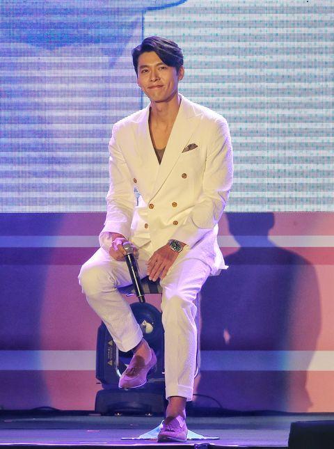 hyun bin attends fan meeting in taipei