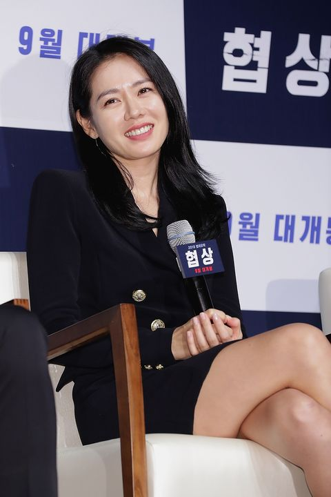 'the negotiation' press conference in seoul