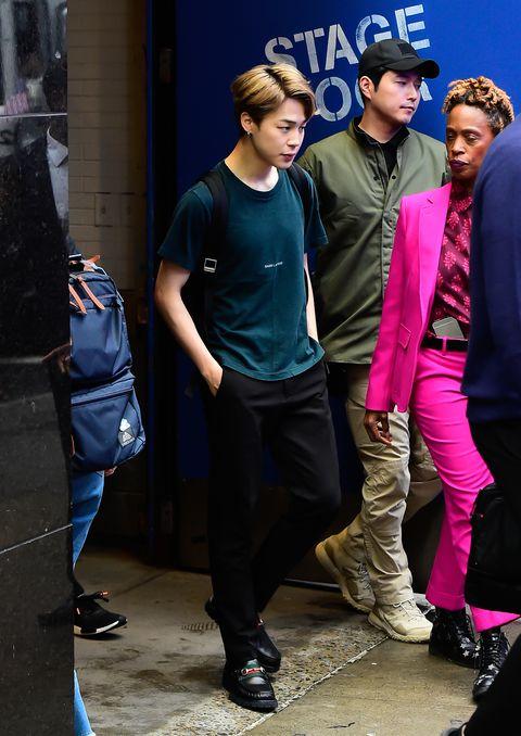 Bts Wore 3 Great Suit Ensembles During New York City Visit