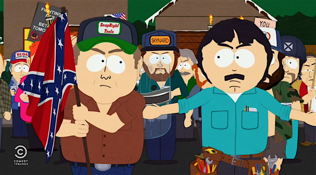 Somehow South Park Made White Supremacists Even More Pathetic Last Night