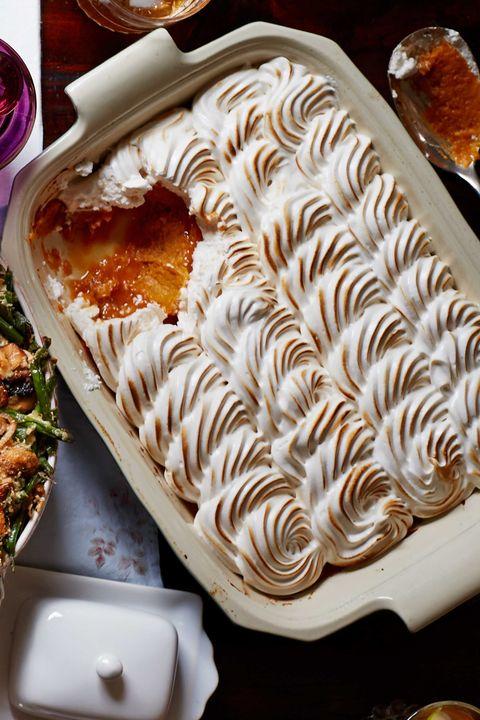 maple meringue sweet potato casserole