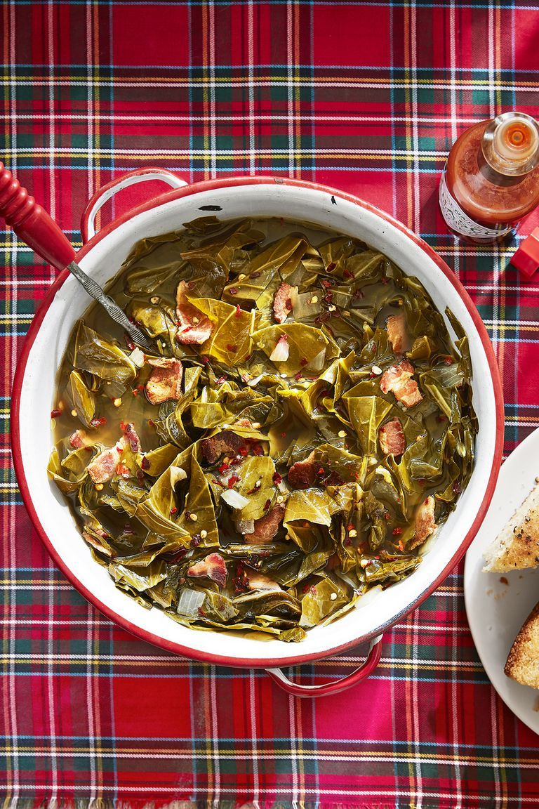 southern thanksgiving menu braised greens