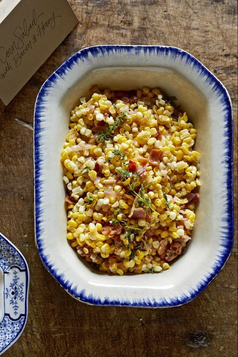 southern thanksgiving menu corn