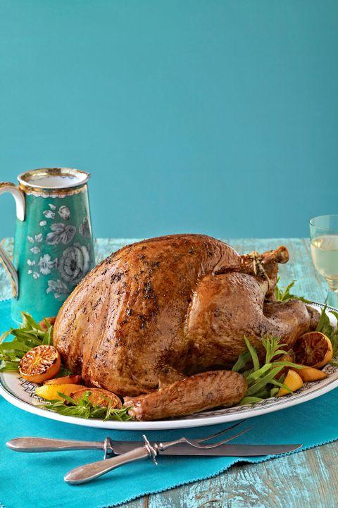 southern thanksgiving menu turkey