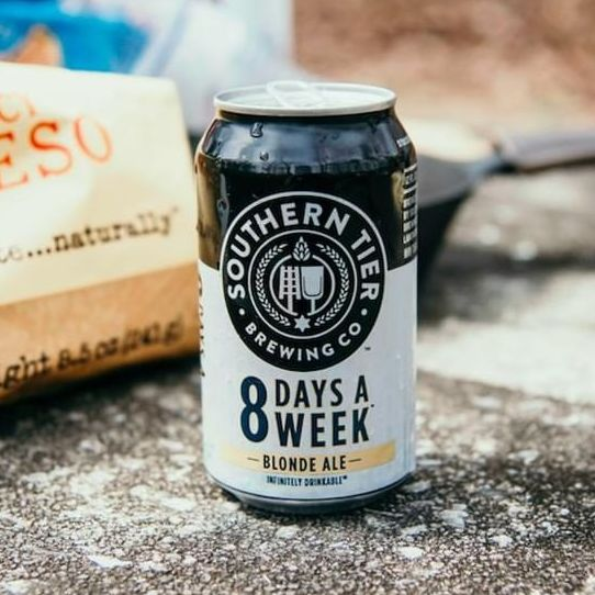 best low-calorie beer: southern tier brewing co. 8 days a week blonde ale