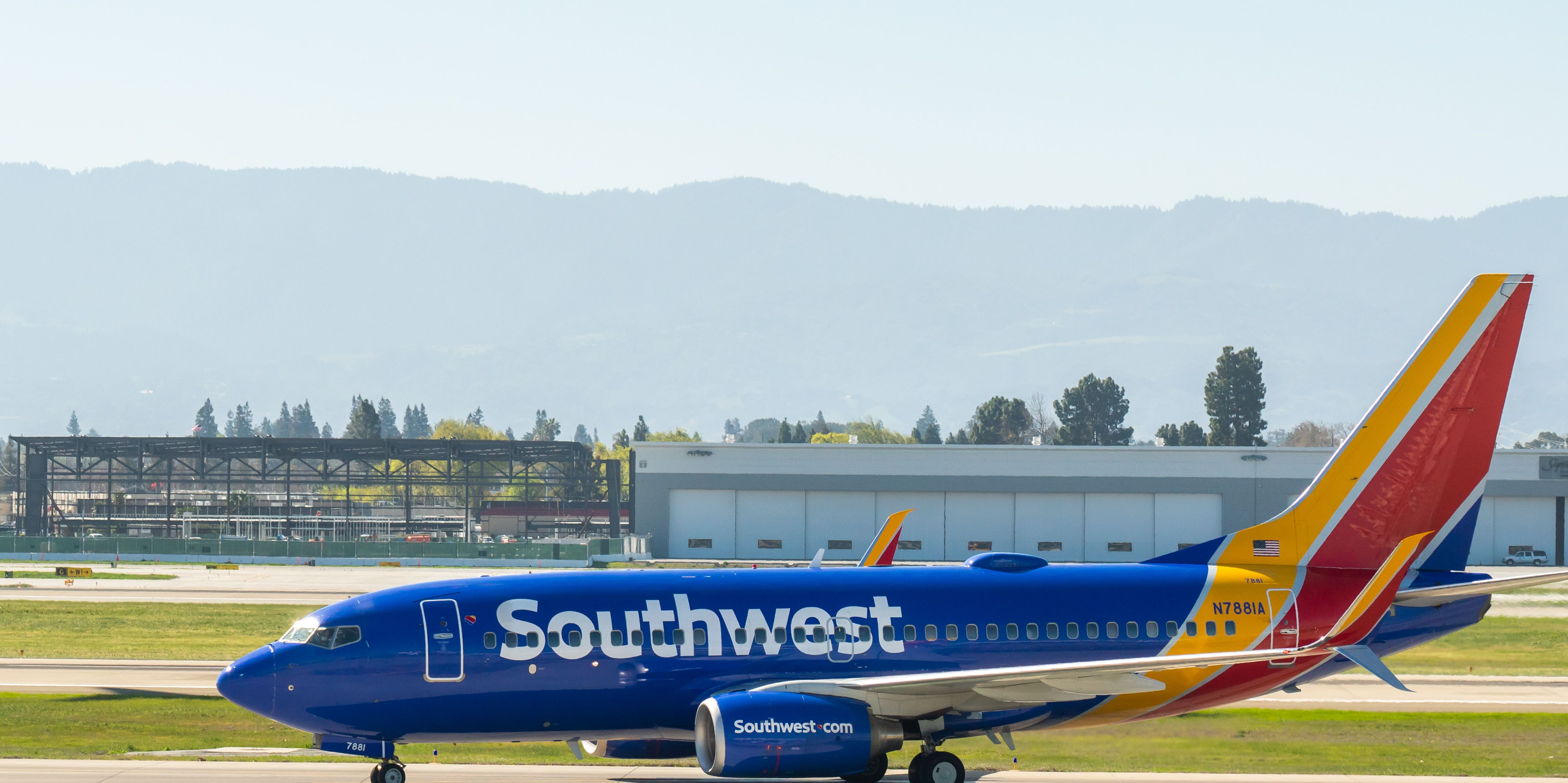 Southwest Airlines Pauses Snack And Drink Service