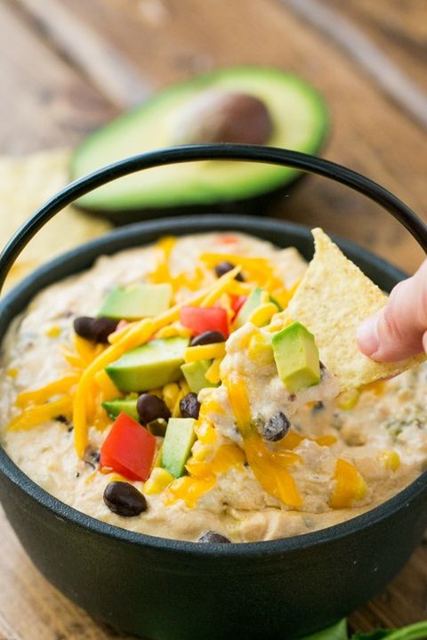 Southwest Extra Cheesy Hot Chicken Dip