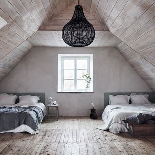 16 Dreamy Attic Rooms - Sloped Ceiling Design Ideas