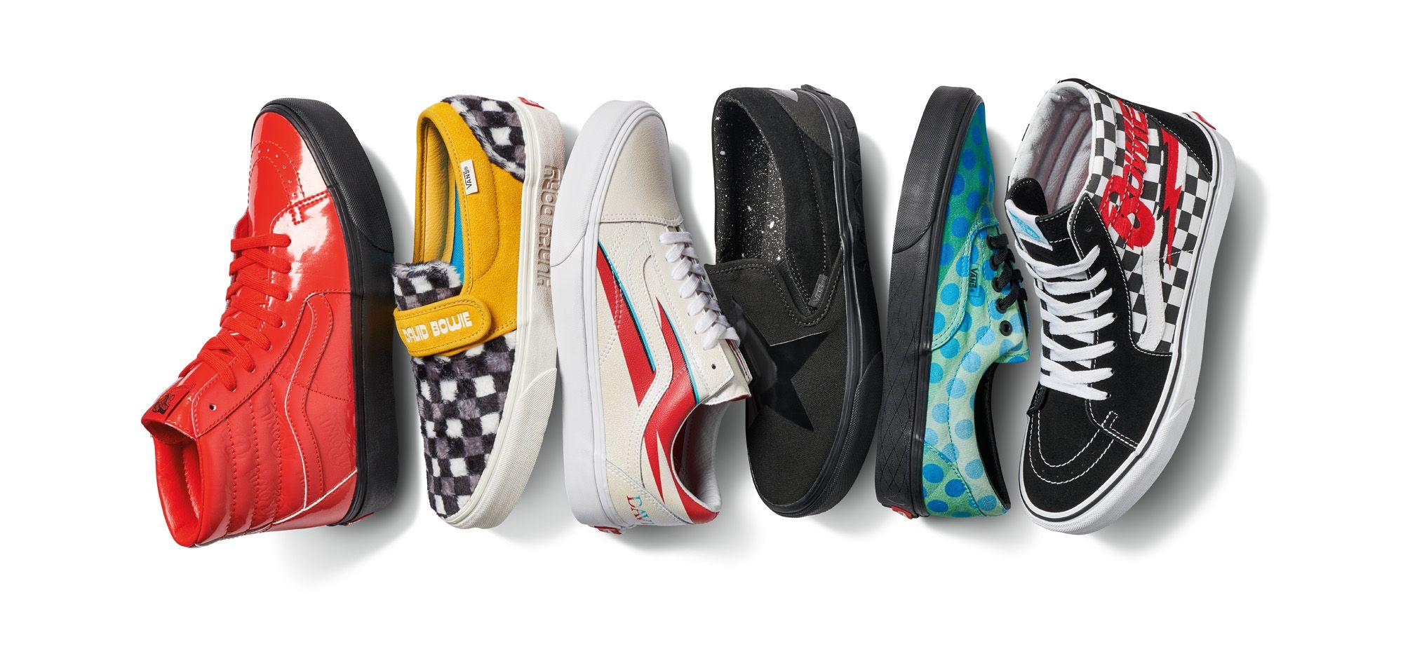 Vans, David Bowie y la colección de zapatillas apta para mitómanos ...