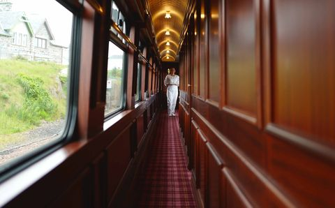 Belmond Royal Scotsman Train