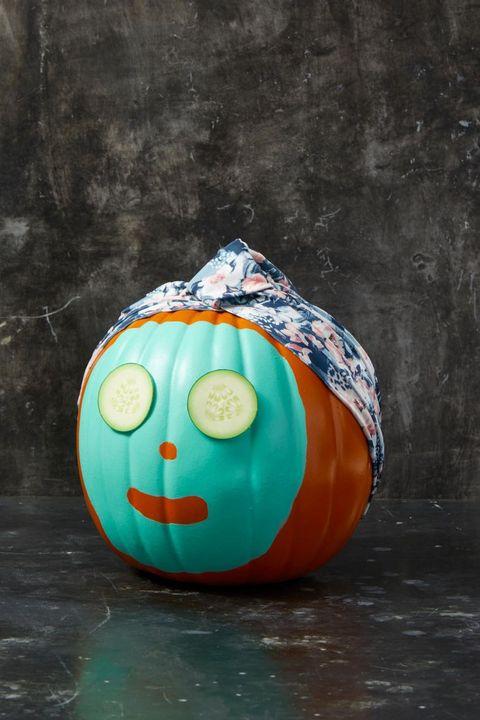 spa pumpkin faces