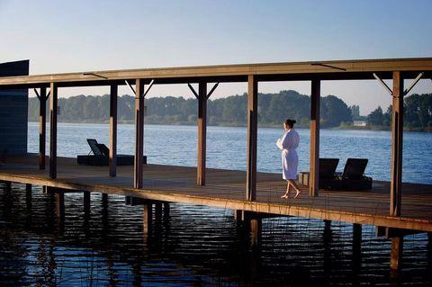 Water, Dock, Pier, Reflection, Sky, Sea, Vacation, Leisure, Ocean, Lake,