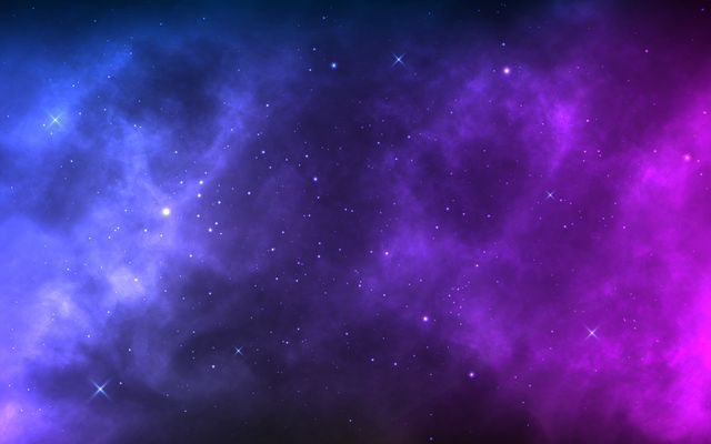 space background with realistic nebula and shining stars colorful cosmos with stardust and milky way magic color galaxy infinite universe and starry night vector illustration