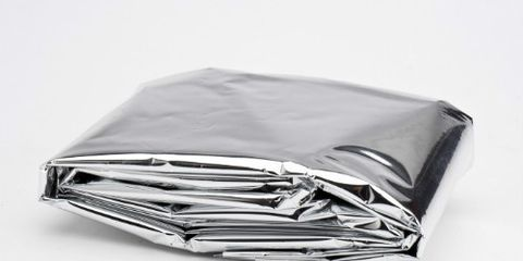 Space Blanket Folded Neatly
