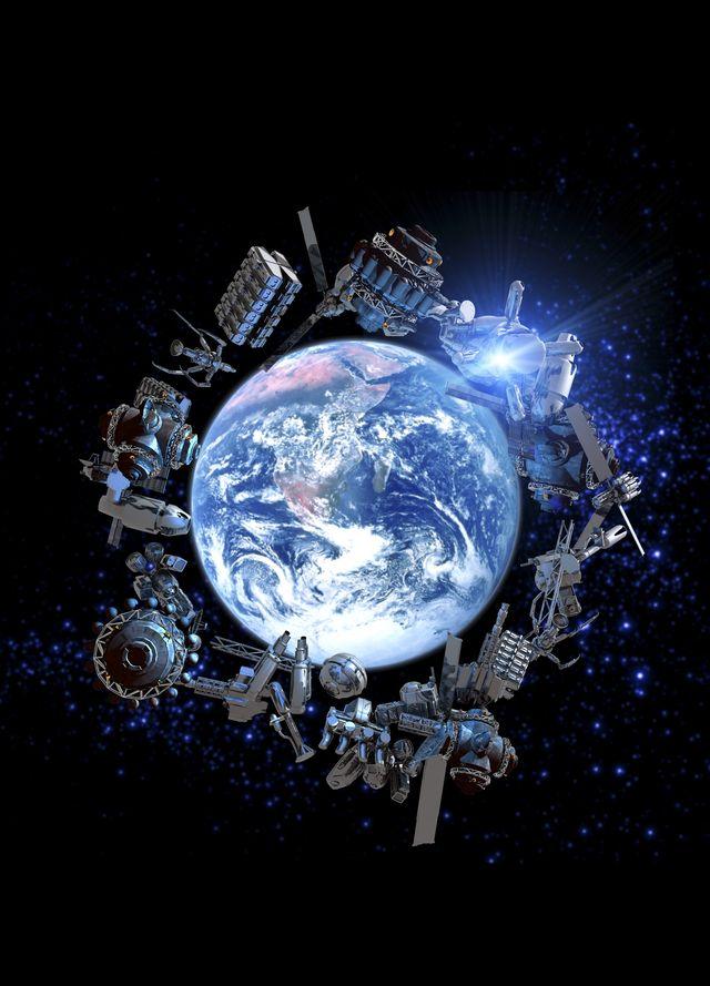 space junk, conceptual artwork