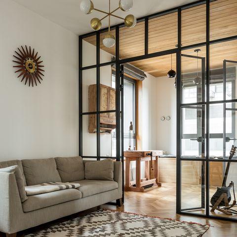 top summer interior trends by houzz, internal glass door, interior design trends