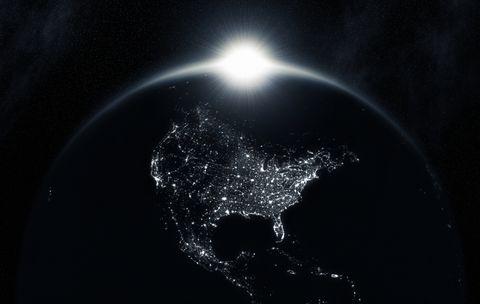 Space Sunrise (North America) XXL