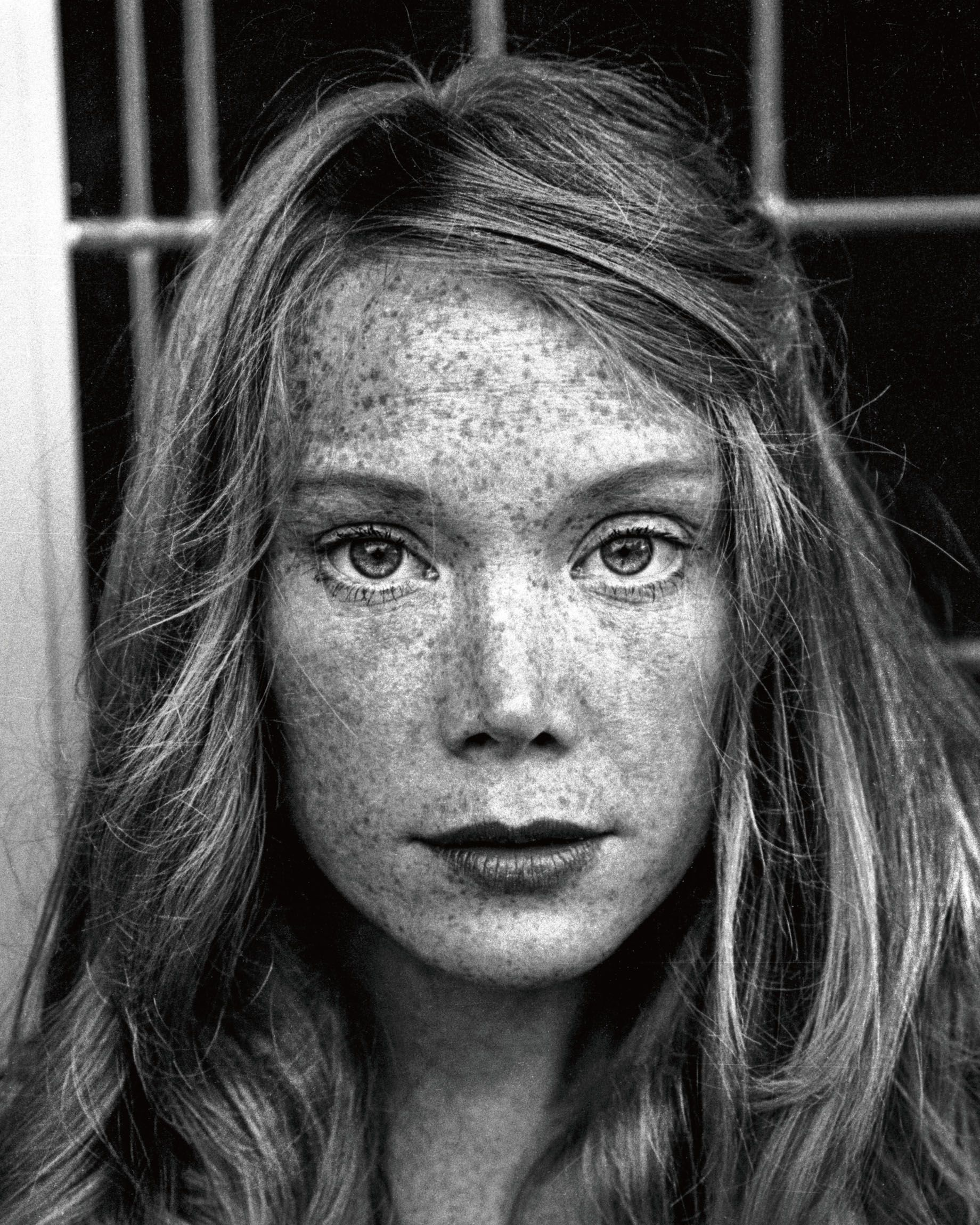 """By 1980, Sissy Spacek had become a movie star, appearing in films such as Carrie and Coal Miner's Daughter (for which she won an Oscar),"" Resnick writes in his book. ""She would sometimes come to my studio and have me shoot her in costume for an upcoming role. Here, she's dressed as her character in Heartbeat ."""