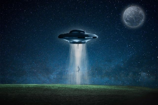 persona abducida por alienígenas