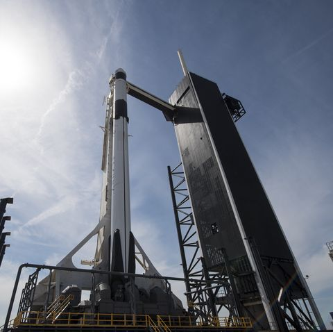 SpaceX Demo-1 Rollout