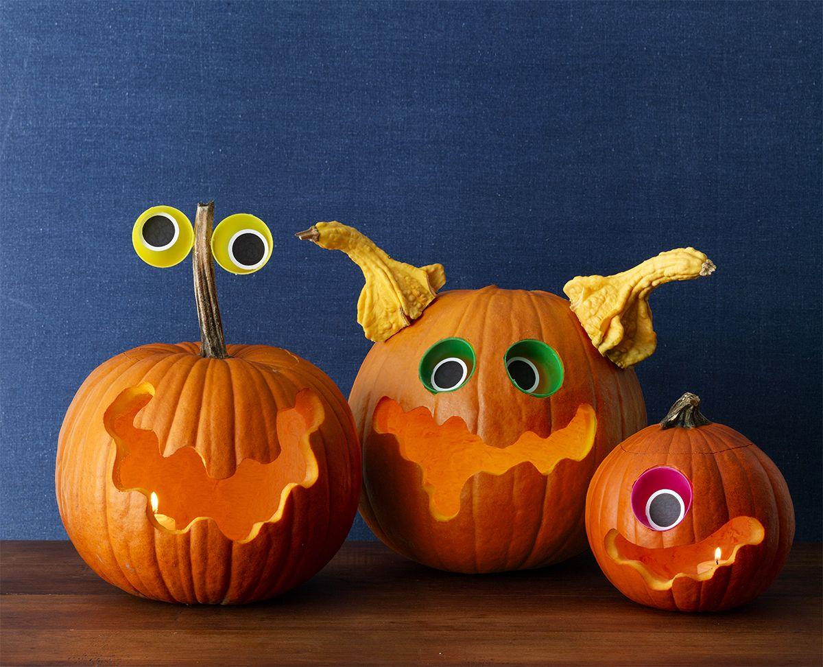Spacey Monsters Pumpkins