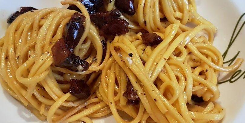 Espaguetis carbonara de Fellina
