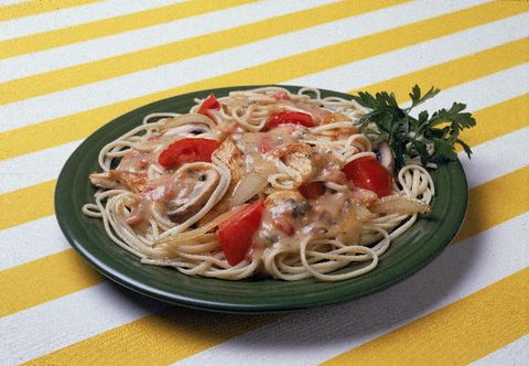 Food, Cuisine, Ingredient, Noodle, Spaghetti, Tableware, Chinese noodles, Pasta, Recipe, Dish,