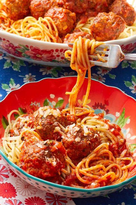 spaghetti and meatballs comfort food recipes