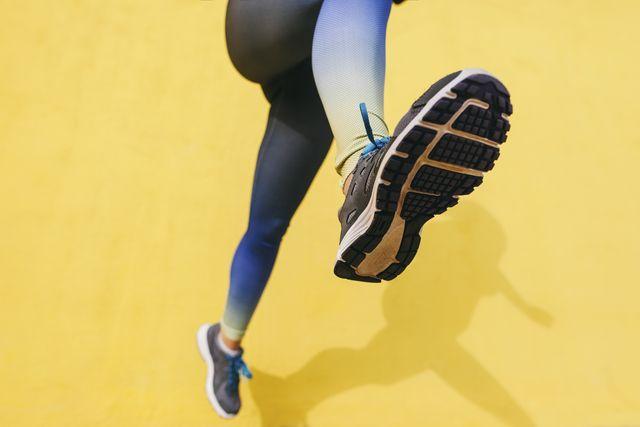 suela de una zapatilla de running