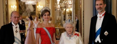 Queen Elizabeth King Felipe