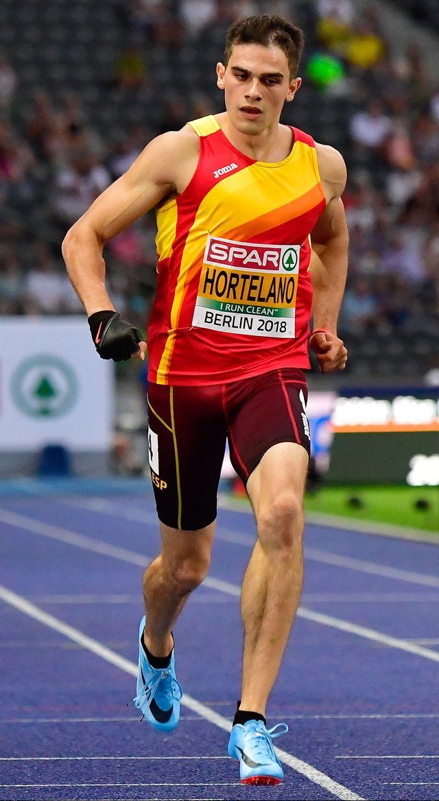 bruno hortelano corre 200 metros en el año 2018
