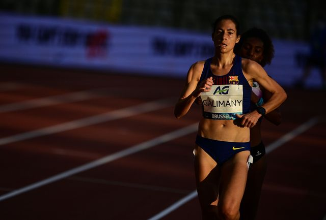 la atleta marta galimany persigue el récord de españa de la hora en la liga de diamante de bruselas