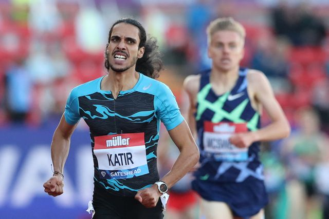 mohamed katir, record de espana de 3000 metros de isaac viciosa