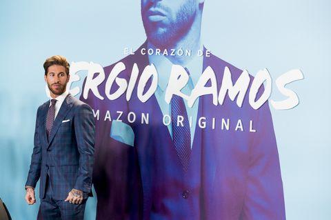 """""""El Corazon de Sergio Ramos"""" Madrid Premiere"""
