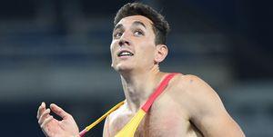 Sergio Fernández estará en los 400m vallas de Huelva